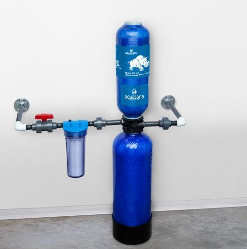Központi víztisztító berendezés