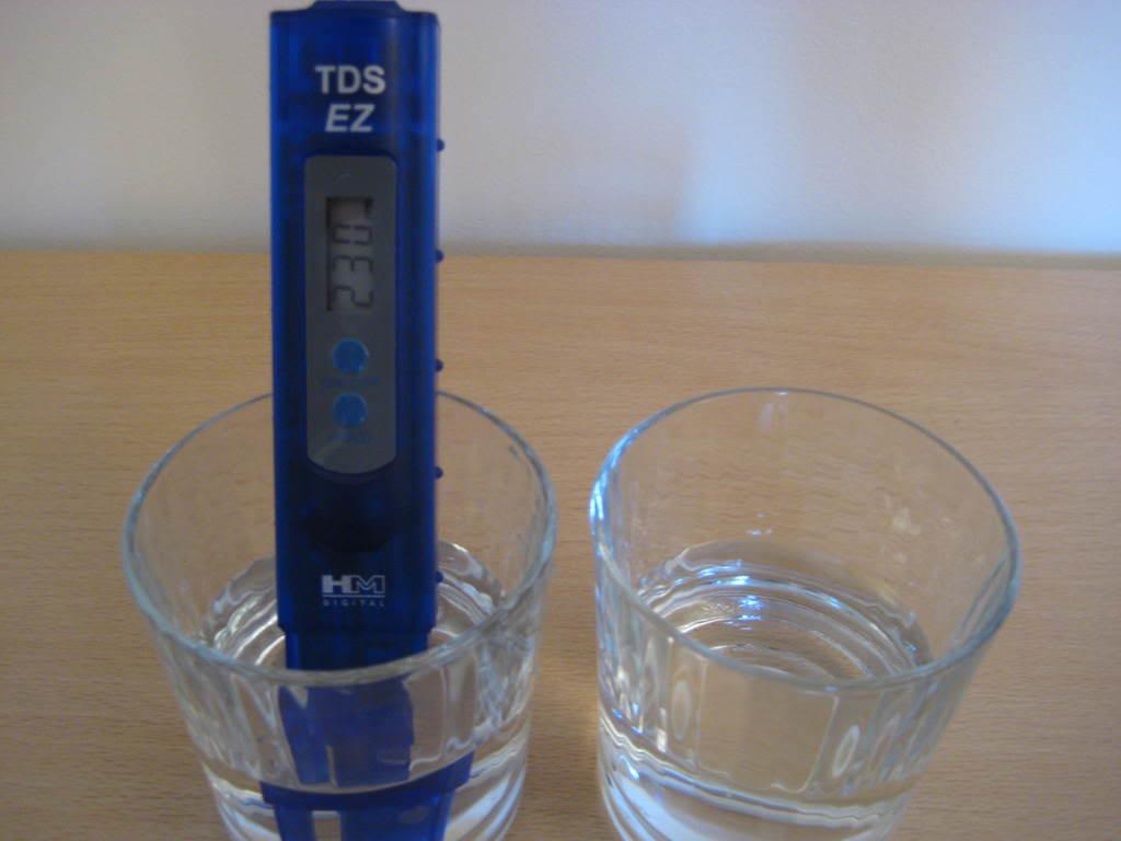 TDS vízmérés, vízkeménység